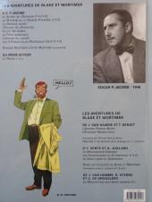Verso de Blake et Mortimer (Les Aventures de) -8b2010- S.O.S. météores