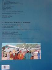 Verso de Blake et Mortimer (Les Aventures de) -17a2008- Les Sarcophages du 6e continent - Tome 2