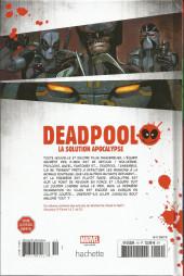 Verso de Deadpool - La collection qui tue (Hachette) -1950- La solution Apocalypse