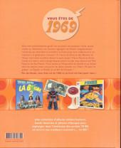 Verso de Mes souvenirs en BD -30- Année de naissance 1969