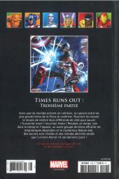 Verso de Marvel Comics - La collection (Hachette) -148- Time Runs Out - Troisième Partie