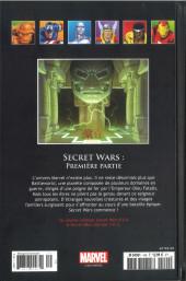 Verso de Marvel Comics - La collection (Hachette) -149112- Secret Wars - Première Partie
