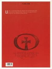 Verso de L'impératrice rouge -2- Cœurs d'acier