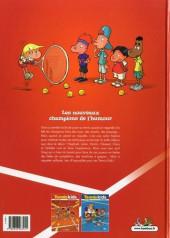 Verso de Tennis Kids -1a2019- Ramasseurs de gags