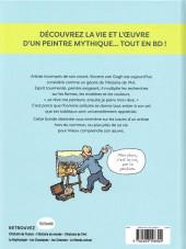Verso de L'histoire de l'art en BD -5- Vincent Van Gogh
