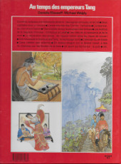 Verso de La vie privée des Hommes -7a- Au temps des empereurs Tang