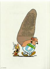 Verso de Astérix -10c1983- Astérix Légionnaire