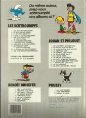 Verso de Les schtroumpfs -10a1984/04- La soupe aux Schtroumpfs