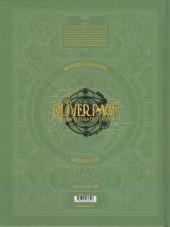 Verso de Oliver Page & les tueurs de temps -2- Tome 2
