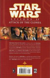 Verso de Star Wars: Episode II - Attack of the Clones - Star Wars: Episode II - Attack of the clones