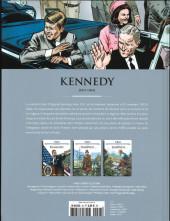 Verso de Les grands personnages de l'histoire en bandes dessinées -26- Kennedy