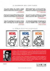 Verso de Michel Larticho-Lepoux -1- Le guerrier des certitudes