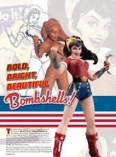 Verso de The Art of DC comics Bombshells - The Art of DC Comics Bombshells