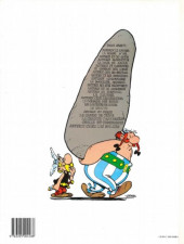 Verso de Astérix -15d1995- La zizanie