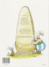 Verso de Astérix -25a96- Le grand Fossé