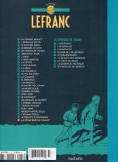 Verso de Lefranc - La Collection (Hachette) -29- La Stratégie du chaos