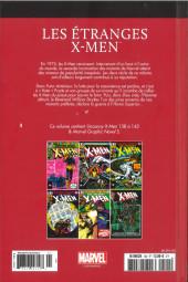Verso de Marvel Comics : Le meilleur des Super-Héros - La collection (Hachette) -102- Les Etranges X-Men