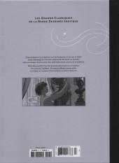 Verso de Les grands Classiques de la Bande Dessinée érotique - La Collection -97105- La Survivante - tome 2