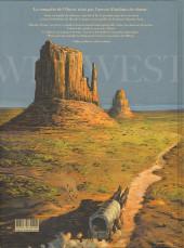Verso de Wild West (Gloris/Lamontagne) -1- Calamity Jane