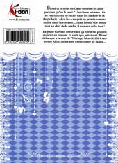 Verso de Alice au royaume de Cœur -4a2013- Tome 4