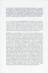 Verso de (DOC) Études et essais divers - Approche de la bande dessinée