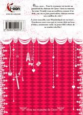 Verso de Alice au royaume de Cœur -5a2013- Tome 5