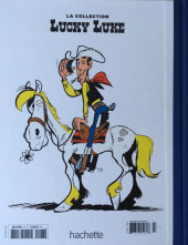 Verso de Lucky Luke - La collection (Hachette 2018) -2779- La terre promise