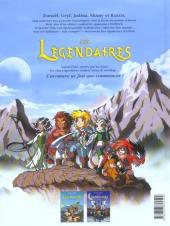 Verso de Les légendaires -1- La pierre de Jovénia