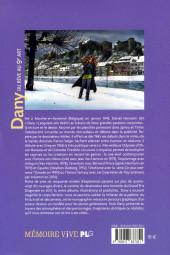 Verso de (AUT) Dany - Du rêve au 9e art