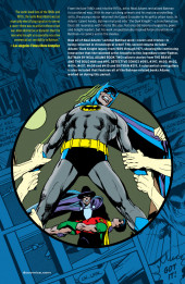 Verso de Batman - Neal Adams -2- Book Two