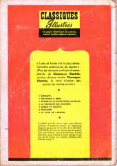 Verso de Classiques illustrés (1re Série) -5- Roméo et Juliette