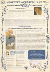 Verso de Le château des Animaux -4- La Gazette du Château n°4