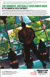Verso de The immortal Hulk (Marvel Comics - 2018) -INT05- Breaker of Worlds