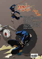 Verso de Le ninja (R-Comics) - Le cœur de Mind