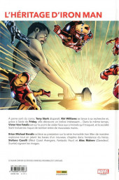 Verso de Invincible Iron Man (Marvel Legacy) -2- A la recherche de Tony Stark (2)