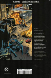 Verso de DC Comics - La légende de Batman -6333- Cataclysme - 3e partie