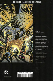 Verso de DC Comics - La légende de Batman -6232- Cataclysme - 2e partie