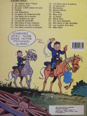 Verso de Les tuniques Bleues -4b1986- Outlaw