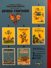 Verso de Spirou et Fantasio -7TT- Le dictateur et le champignon