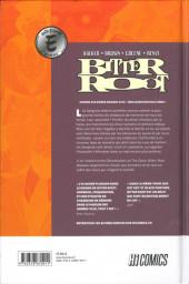 Verso de Bitter Root -1- Affaire familiale