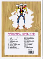 Verso de Lucky Luke -28e2014- L'escorte