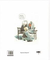 Verso de (AUT) Sandoval, Tony - Mr. Calcium Skeleton Was in Love - Sketchbook