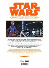 Verso de Star Wars - Nouvelles aventures -3- Tome 3