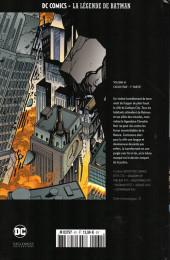Verso de DC Comics - La légende de Batman -61- Cataclysme - 1re partie