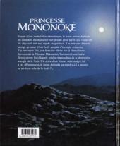 Verso de Princesse Mononoké - Tome Roman