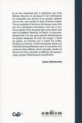 Verso de (AUT) Breccia, Alberto - Breccia, Conversations avec Juan Sasturain