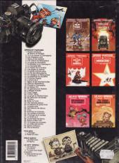 Verso de Spirou et Fantasio -5b1992- Les voleurs de Marsupilami