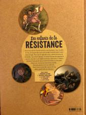 Verso de Les enfants de la Résistance -2a2019- Premières répressions