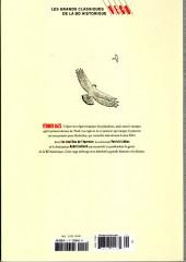 Verso de Les grands Classiques de la BD Historique Vécu - La Collection -10- Les Sept Vies de l'Epervier - Tome VII: La Marque du Condor