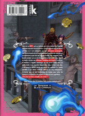 Verso de Dungeon of Black Company (The) -4- Tome 4